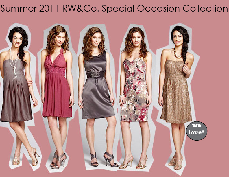 RW\u0026Co.'s Bridesmaid Collection |