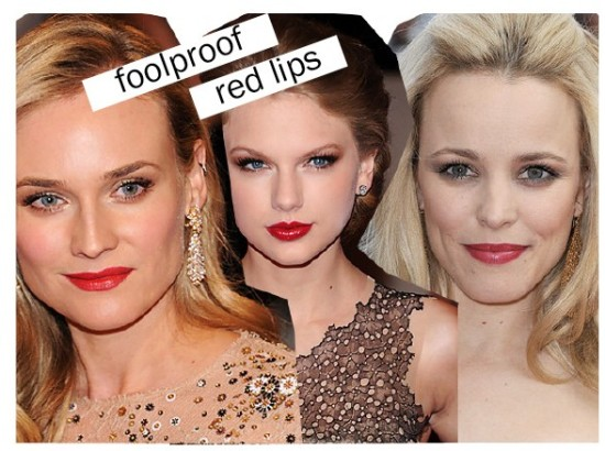 Easy red Lipstick