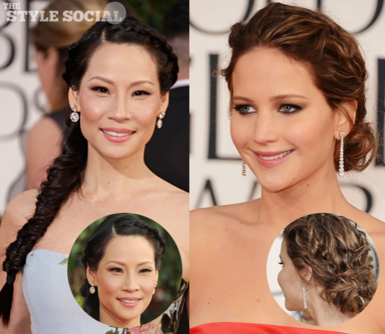 Golden Globes Braids